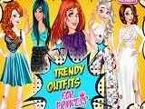 Play Trendy Outfits for Princess