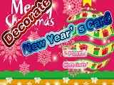 Play Decorate New Years Card