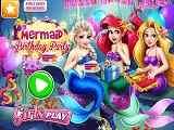 Play Mermaid Birthday Party