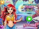 Play Mermaid Princess Real Haircuts