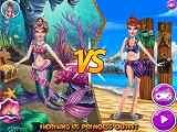 Play Princess VS Mermaid Outfit