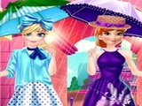 Play Elsa And Anna Paris Shopping