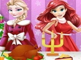 Play Ariel Christmas Cooking