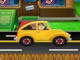 Play Pou Drives To Go Shopping