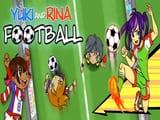 Play Yuki and Rina Football