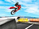 Play Highway Traffic Bike Stunts