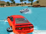 Play Water Slide Car Race